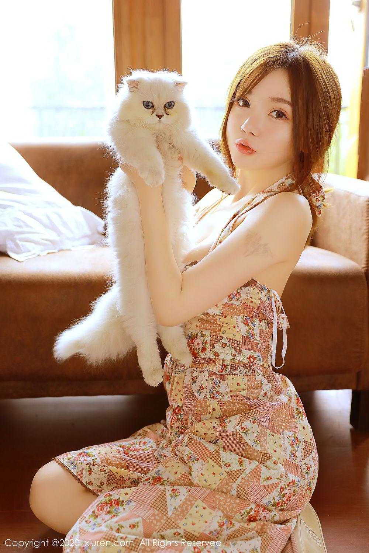 [XiuRen] Vol.2517 Nuo Mei Zi 24P, Baby Face Big Boobs, Mini Da Meng Meng, Underwear, Xiuren, 肉晴