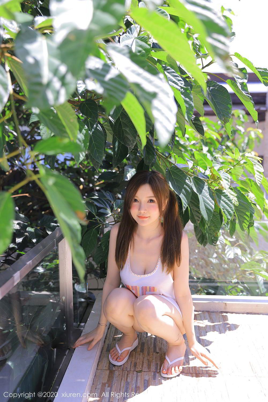 [XiuRen] Vol.2517 Nuo Mei Zi 25P, Baby Face Big Boobs, Mini Da Meng Meng, Underwear, Xiuren, 肉晴