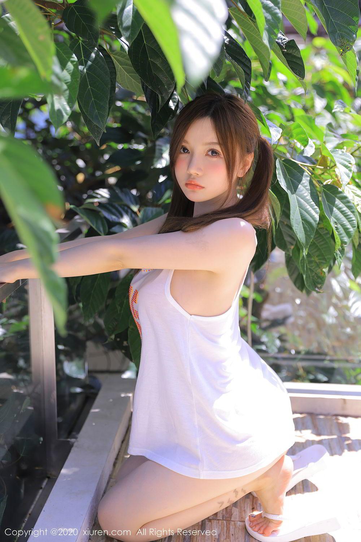 [XiuRen] Vol.2517 Nuo Mei Zi 26P, Baby Face Big Boobs, Mini Da Meng Meng, Underwear, Xiuren, 肉晴