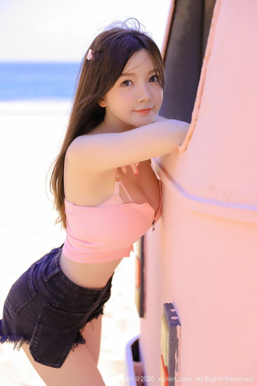 [XiuRen] Vol.2517 Nuo Mei Zi 47P, Baby Face Big Boobs, Mini Da Meng Meng, Underwear, Xiuren, 肉晴
