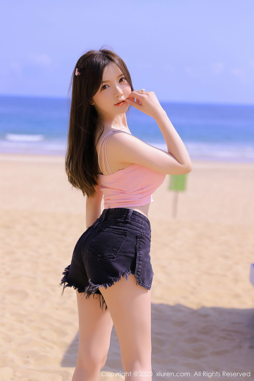 [XiuRen] Vol.2517 Nuo Mei Zi 50P, Baby Face Big Boobs, Mini Da Meng Meng, Underwear, Xiuren, 肉晴