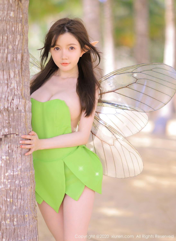 [XiuRen] Vol.2517 Nuo Mei Zi 66P, Baby Face Big Boobs, Mini Da Meng Meng, Underwear, Xiuren, 肉晴