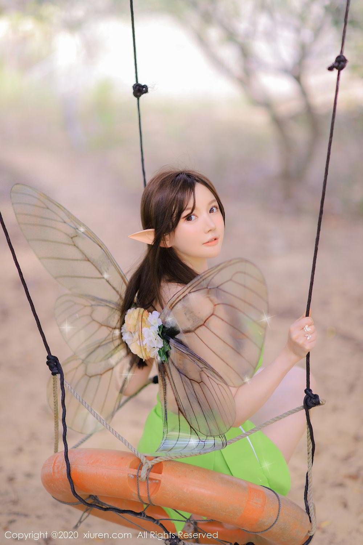 [XiuRen] Vol.2517 Nuo Mei Zi 70P, Baby Face Big Boobs, Mini Da Meng Meng, Underwear, Xiuren, 肉晴
