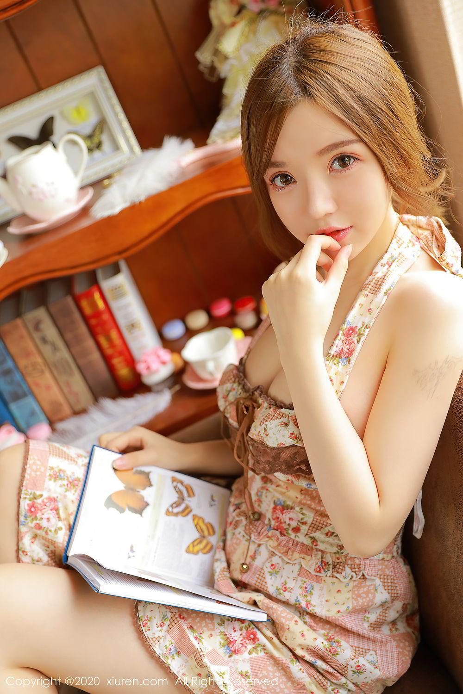 [XiuRen] Vol.2517 Nuo Mei Zi 71P, Baby Face Big Boobs, Mini Da Meng Meng, Underwear, Xiuren, 肉晴