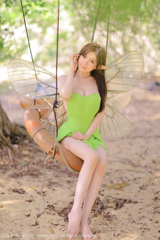 [XiuRen] Vol.2517 Nuo Mei Zi 72P, Baby Face Big Boobs, Mini Da Meng Meng, Underwear, Xiuren, 肉晴