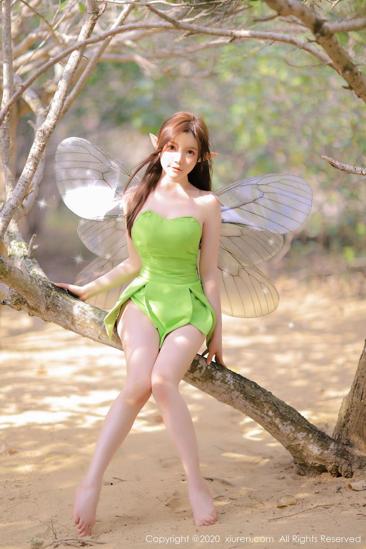 [XiuRen] Vol.2517 Nuo Mei Zi 75P, Baby Face Big Boobs, Mini Da Meng Meng, Underwear, Xiuren, 肉晴