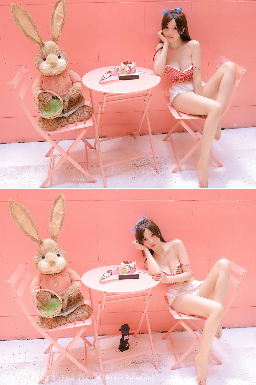 [XiuRen] Vol.2517 Nuo Mei Zi 7P, Baby Face Big Boobs, Mini Da Meng Meng, Underwear, Xiuren, 肉晴