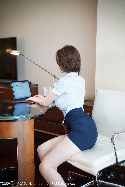 [XiuRen] Vol.2521 Nuo Mei Zi 11P, Mini Da Meng Meng, Uniform, Xiuren