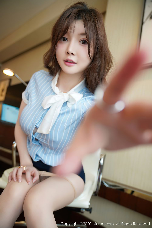 [XiuRen] Vol.2521 Nuo Mei Zi 47P, Mini Da Meng Meng, Uniform, Xiuren