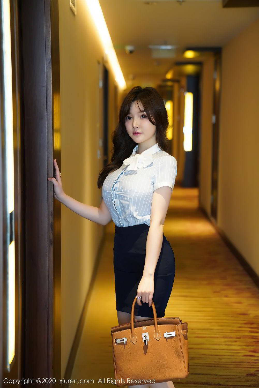 [XiuRen] Vol.2521 Nuo Mei Zi 48P, Mini Da Meng Meng, Uniform, Xiuren