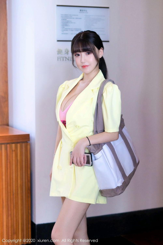 [XiuRen] Vol.2527 Two beauties fitness 12P, Egg Younisi, Sisters, Xiuren, Zhu Ke Er