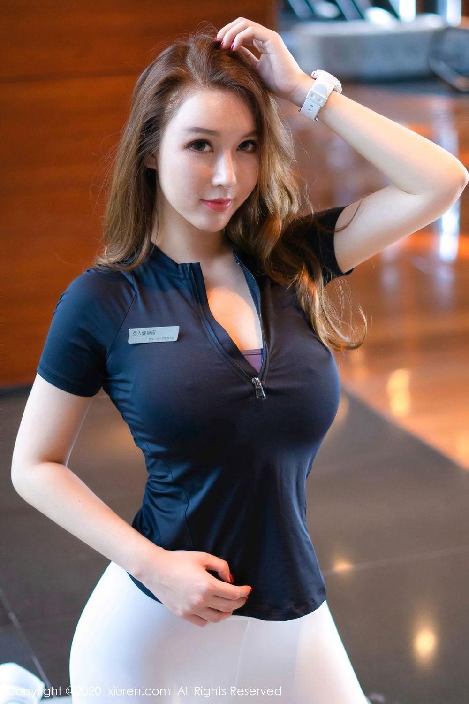 [XiuRen] Vol.2527 Two beauties fitness 18P, Egg Younisi, Sisters, Xiuren, Zhu Ke Er
