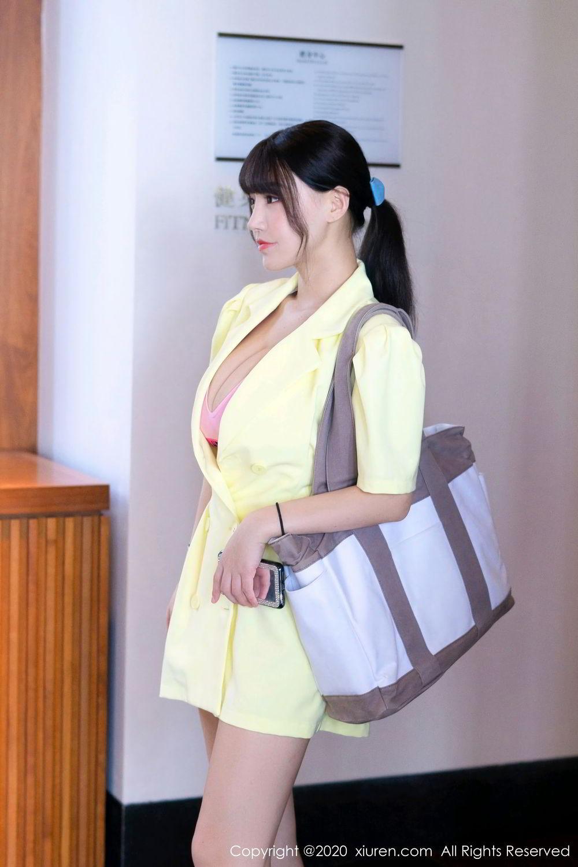 [XiuRen] Vol.2527 Two beauties fitness 1P, Egg Younisi, Sisters, Xiuren, Zhu Ke Er