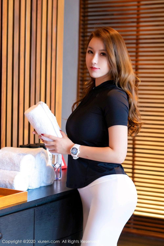 [XiuRen] Vol.2527 Two beauties fitness 56P, Egg Younisi, Sisters, Xiuren, Zhu Ke Er