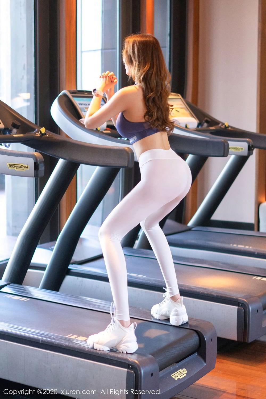 [XiuRen] Vol.2527 Two beauties fitness 63P, Egg Younisi, Sisters, Xiuren, Zhu Ke Er
