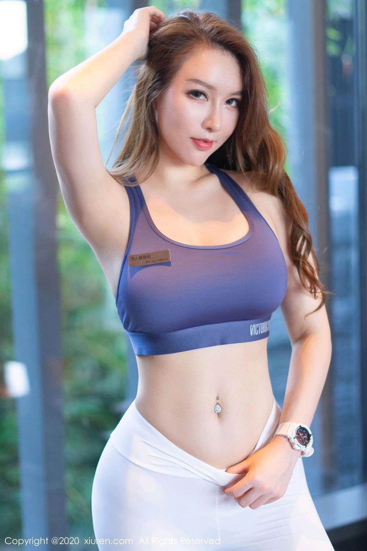 [XiuRen] Vol.2527 Two beauties fitness 68P, Egg Younisi, Sisters, Xiuren, Zhu Ke Er