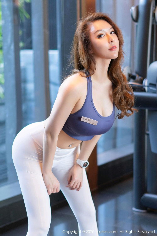 [XiuRen] Vol.2527 Two beauties fitness 69P, Egg Younisi, Sisters, Xiuren, Zhu Ke Er