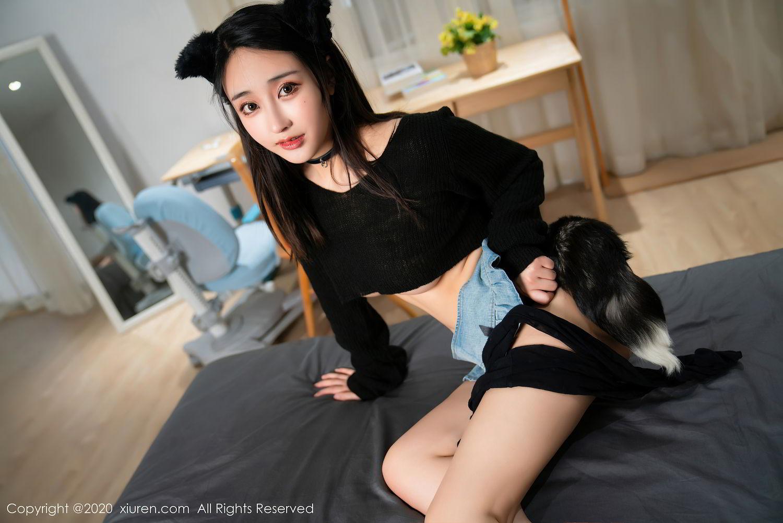 [XiuRen] Vol.2529 Lin Zi Xin 54P, Black Silk, Lin Zi Xin, Tall, Xiuren