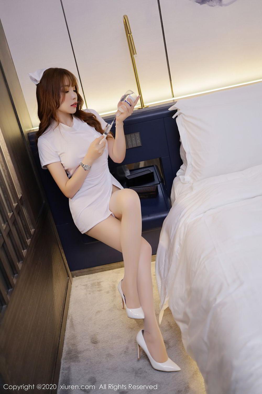 [XiuRen] Vol.2530 Zhi Zhi Booty 17P, Chen Zhi, Nurse, Uniform, Xiuren