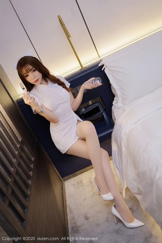 [XiuRen] Vol.2530 Zhi Zhi Booty 18P, Chen Zhi, Nurse, Uniform, Xiuren