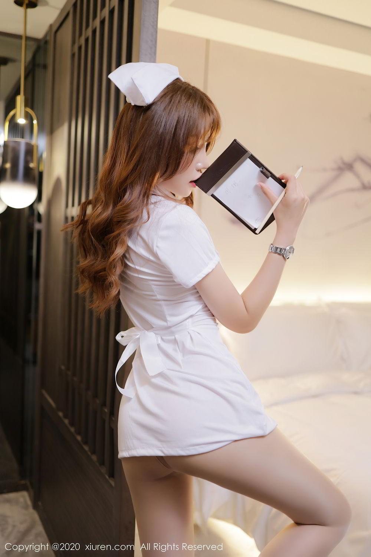 [XiuRen] Vol.2530 Zhi Zhi Booty 2P, Chen Zhi, Nurse, Uniform, Xiuren