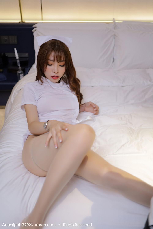[XiuRen] Vol.2530 Zhi Zhi Booty 32P, Chen Zhi, Nurse, Uniform, Xiuren
