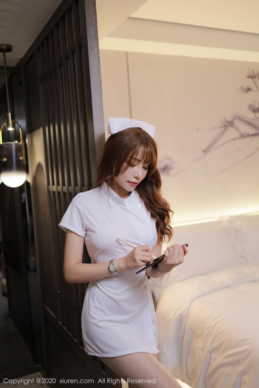 [XiuRen] Vol.2530 Zhi Zhi Booty 34P, Chen Zhi, Nurse, Uniform, Xiuren