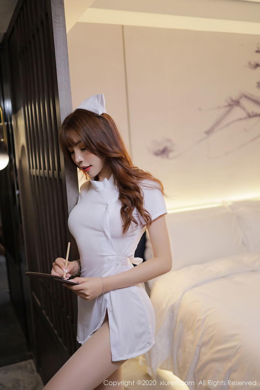 [XiuRen] Vol.2530 Zhi Zhi Booty 56P, Chen Zhi, Nurse, Uniform, Xiuren