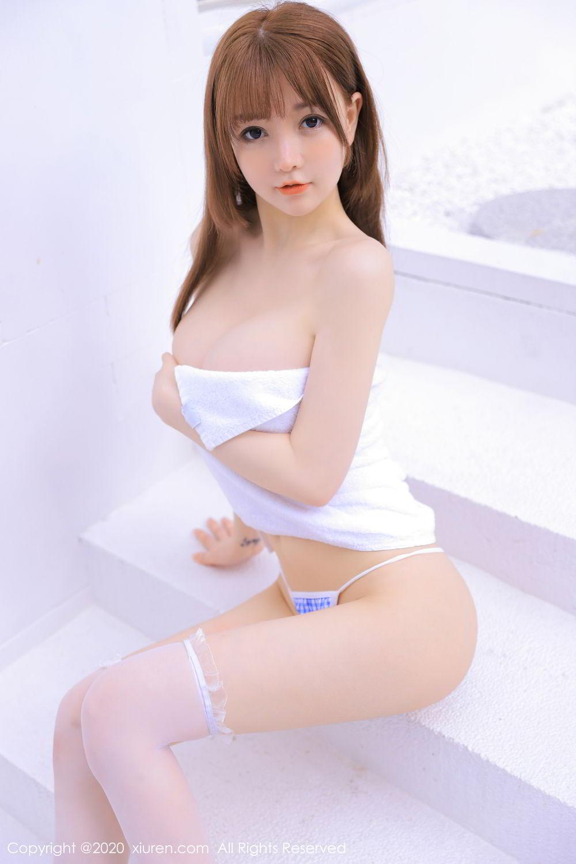 [XiuRen] Vol.2531 UU Jiang 11P, Baby Face Big Boobs, Bikini, Swim Pool, UU Jiang, Xiuren