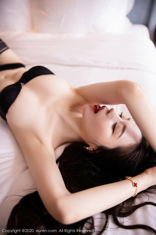[XiuRen] Vol.2535 Meng Xin Yue 6P, Black Silk, Meng Xin Yue, Slim, Tall, Xiuren