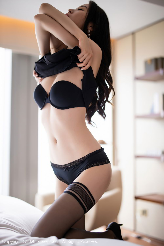 [XiuRen] Vol.2535 Meng Xin Yue 72P, Black Silk, Meng Xin Yue, Slim, Tall, Xiuren