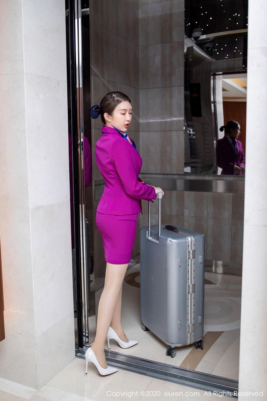[XiuRen] Vol.2538 Yu Tu Miki 12P, Stewardess, Tall, Xiuren, Yu Tu M I K I