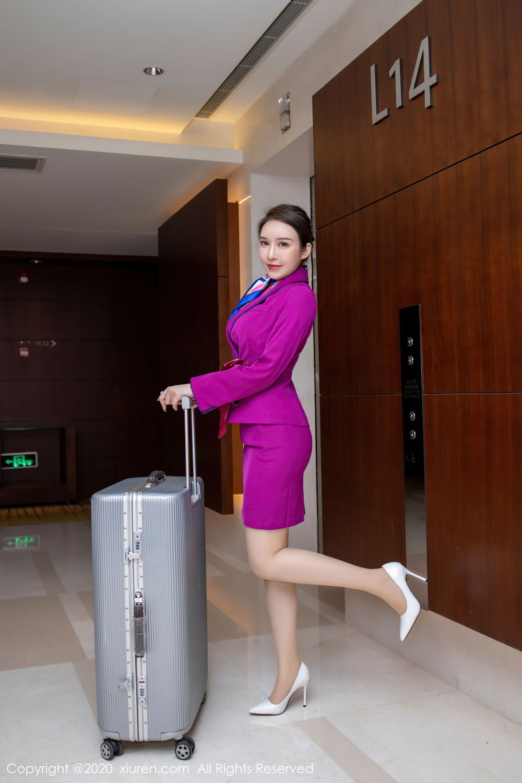 [XiuRen] Vol.2538 Yu Tu Miki 1P, Stewardess, Tall, Xiuren, Yu Tu M I K I