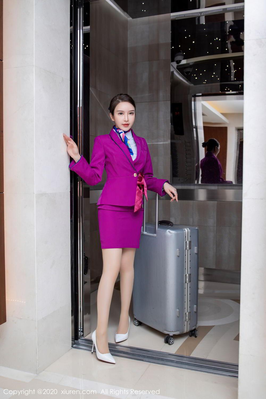 [XiuRen] Vol.2538 Yu Tu Miki 23P, Stewardess, Tall, Xiuren, Yu Tu M I K I