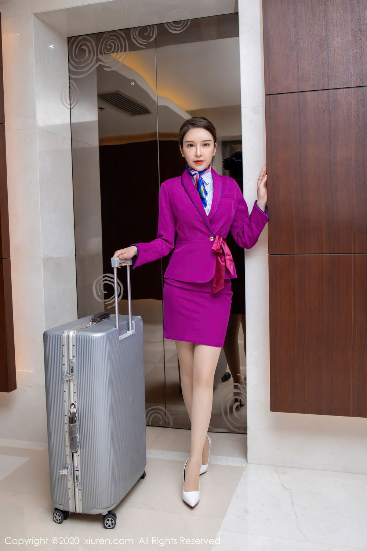 [XiuRen] Vol.2538 Yu Tu Miki 27P, Stewardess, Tall, Xiuren, Yu Tu M I K I