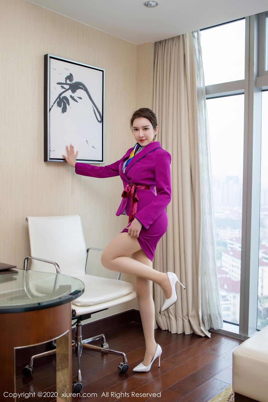 [XiuRen] Vol.2538 Yu Tu Miki 30P, Stewardess, Tall, Xiuren, Yu Tu M I K I