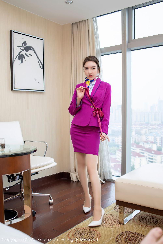 [XiuRen] Vol.2538 Yu Tu Miki 32P, Stewardess, Tall, Xiuren, Yu Tu M I K I