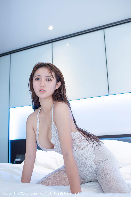 [XiuRen] Vol.2542 Jiu Jiu Aimee 10P, Black Silk, Jiu Jiu Aimee, Underwear, Xiuren