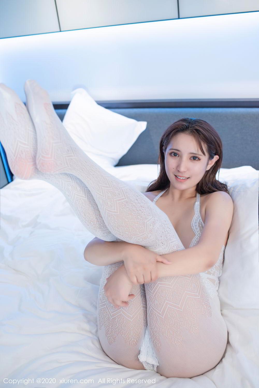 [XiuRen] Vol.2542 Jiu Jiu Aimee 15P, Black Silk, Jiu Jiu Aimee, Underwear, Xiuren