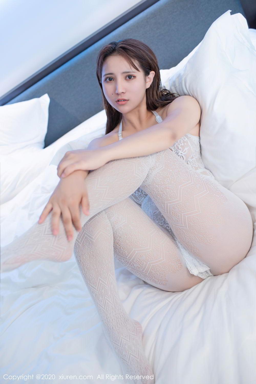 [XiuRen] Vol.2542 Jiu Jiu Aimee 18P, Black Silk, Jiu Jiu Aimee, Underwear, Xiuren