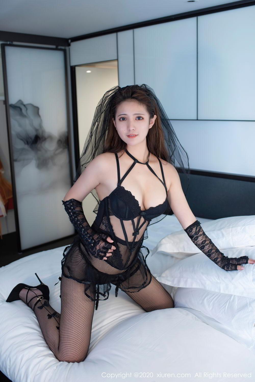 [XiuRen] Vol.2542 Jiu Jiu Aimee 42P, Black Silk, Jiu Jiu Aimee, Underwear, Xiuren