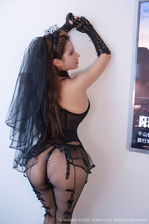 [XiuRen] Vol.2542 Jiu Jiu Aimee 54P, Black Silk, Jiu Jiu Aimee, Underwear, Xiuren