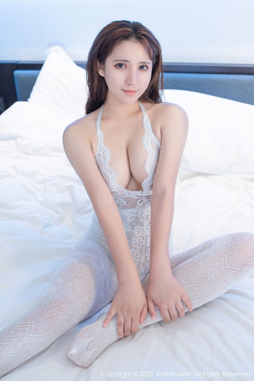 [XiuRen] Vol.2542 Jiu Jiu Aimee 7P, Black Silk, Jiu Jiu Aimee, Underwear, Xiuren