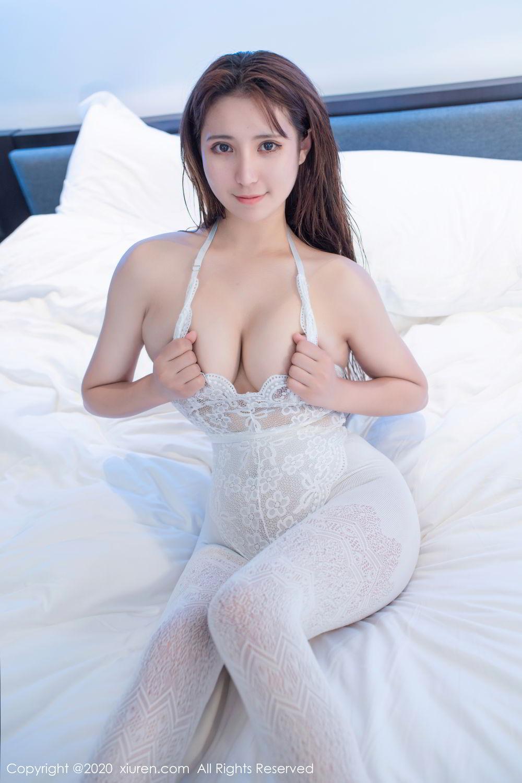 [XiuRen] Vol.2542 Jiu Jiu Aimee 9P, Black Silk, Jiu Jiu Aimee, Underwear, Xiuren