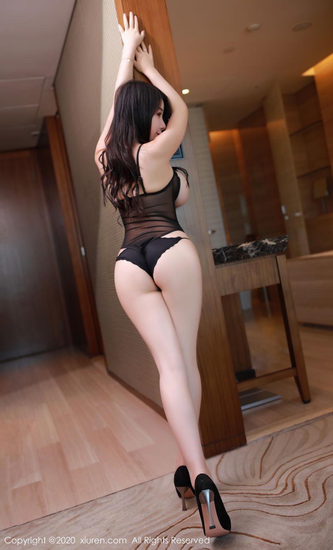 [XiuRen] Vol.2548 Mei Qi 12P, Black Silk, Mei Qi, Underwear, Xiuren, 美七, 美七Mia