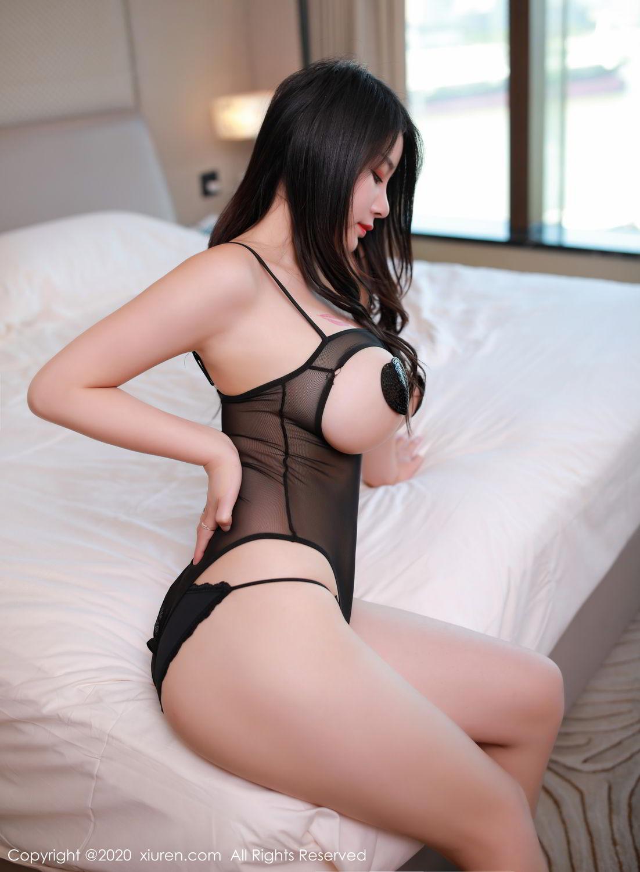 [XiuRen] Vol.2548 Mei Qi 37P, Black Silk, Mei Qi, Underwear, Xiuren, 美七, 美七Mia