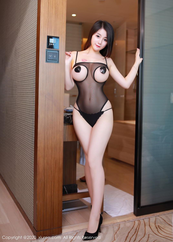 [XiuRen] Vol.2548 Mei Qi 8P, Black Silk, Mei Qi, Underwear, Xiuren, 美七, 美七Mia
