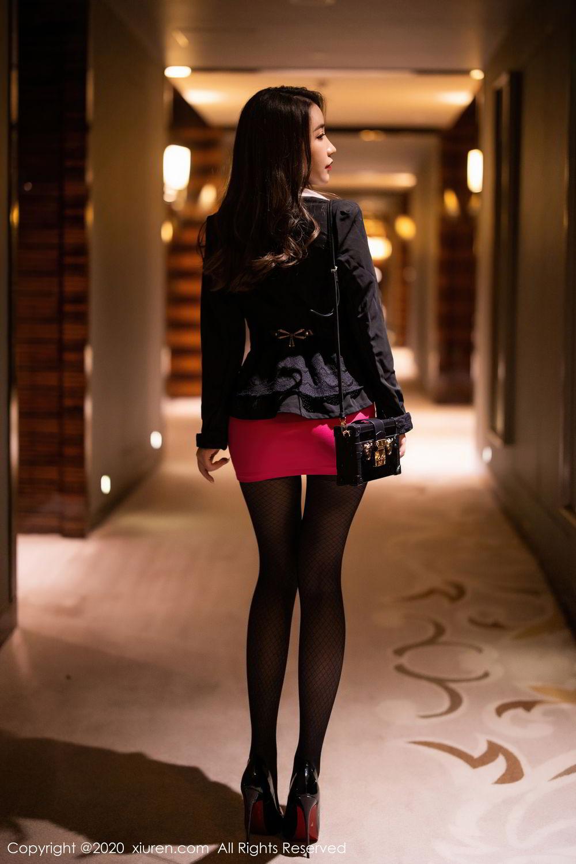 [XiuRen] Vol.2553 Fei Yue Ying 1P, Big Booty, Tall, Uniform, Xie Zhi Xin, Xiuren