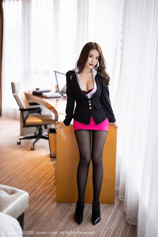 [XiuRen] Vol.2553 Fei Yue Ying 25P, Big Booty, Tall, Uniform, Xie Zhi Xin, Xiuren