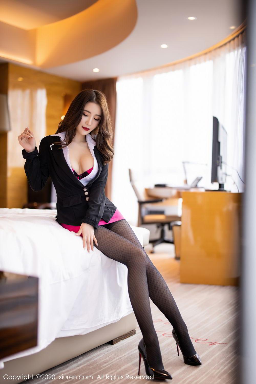 [XiuRen] Vol.2553 Fei Yue Ying 27P, Big Booty, Tall, Uniform, Xie Zhi Xin, Xiuren
